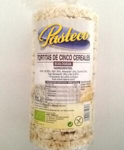 Tortitas de Cinco Cereales