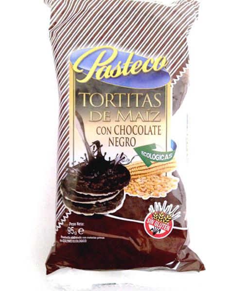 Tortitas de Maiz con Chocolate Negro