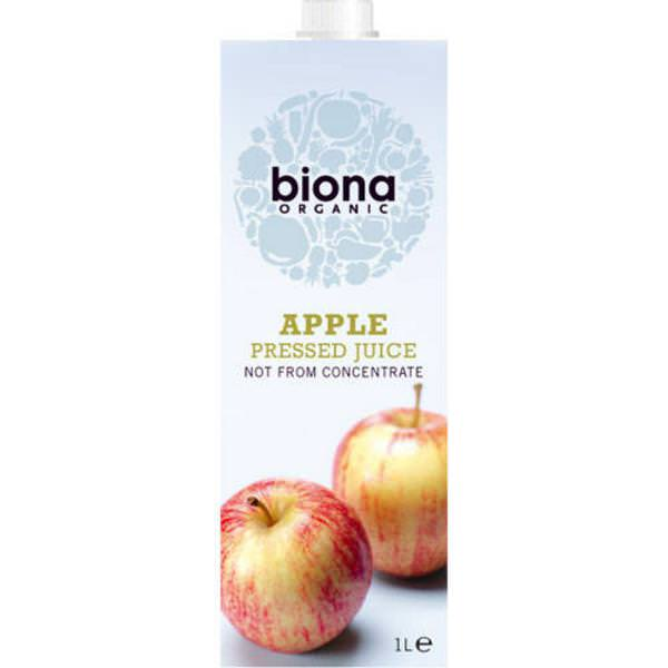 Zumos Manzana Ecológico Biona