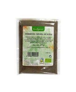 Pimienta Negra Molida Ecológica
