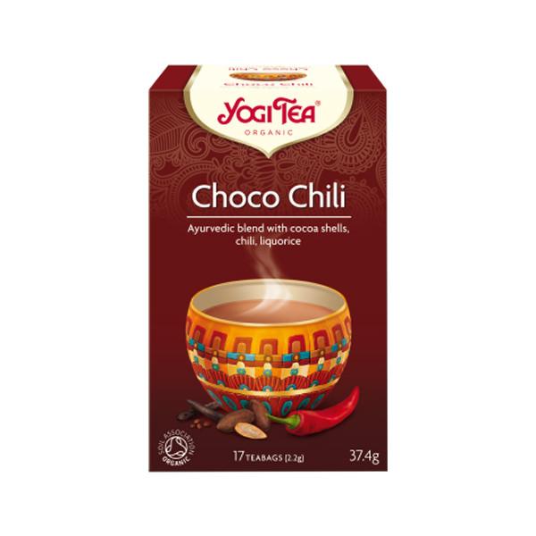 YogiTea Choc Chili Té Ecológico