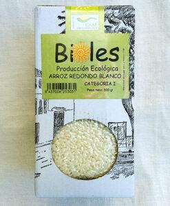 Arroz Redondo Blanco Ecologico